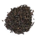 Rozsypisko czerni sucha herbata Zdjęcia Royalty Free