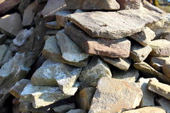 Rozsypisko kamienie Zdjęcia Stock