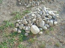 Rozsypisko kamienie Zdjęcie Royalty Free