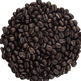 Rozsypisko kawowe fasole Zdjęcie Stock