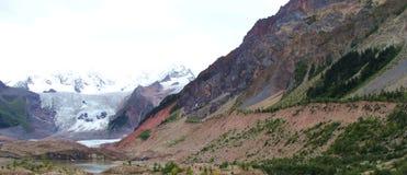 Rozsypisko lodowiec w Tibet zdjęcie stock