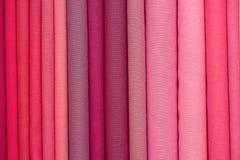 Rozsypisko sukienne tkaniny w India zdjęcia royalty free