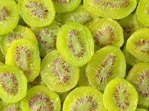 Rozsypisko wysuszony kiwifruit Obrazy Royalty Free