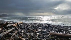 Rozszalali morza Fotografia Stock