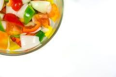 Rozszczepeni pomidory Fotografia Stock