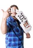 Rozszczepia karcianą grę Zdjęcie Stock