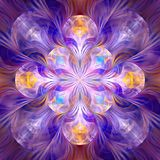 Rozszczepiona Elipsowata walkirii fractal sztuka Fotografia Royalty Free