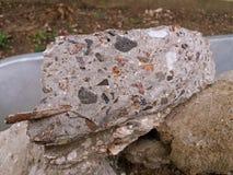 Rozszczepiony kamień dla budowy Obraz Royalty Free