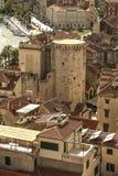 Rozszczepiony miasteczko w Chorwacja obrazy royalty free