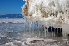 Roztapiający lodowowie zdjęcia stock