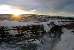 Roztapiający lodowiec Fotografia Royalty Free