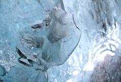 Roztapiający naturalny lód Zdjęcia Stock