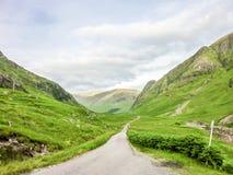 Roztoka Etive Glencoe, Szkocja Zdjęcie Stock