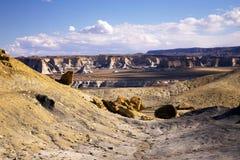 Roztoka jaru Krajowy Rekreacyjny teren, jeziora Powell, Arizona i Utah, Zdjęcie Royalty Free