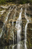 Roztoki Burney ślad, Dmucha skałę, NC Zdjęcia Stock