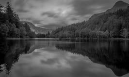 Roztoki coe lochan Scotland zdjęcie royalty free