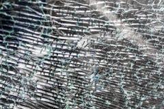 Roztrzaskany Krakingowy szkło wzór obrazy royalty free