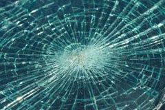 Roztrzaskujący windscreen Zdjęcie Royalty Free