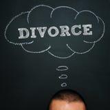 Rozwód obraz royalty free