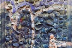 Rozwód farby od balonchika na ścianie Zdjęcia Stock
