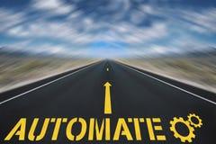 Rozwój biznesu automatyzacja Obrazy Royalty Free