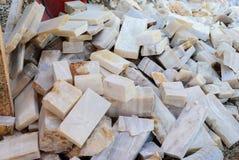 Rozwój kamienna onyks skała, uprawiający materiał Zdjęcia Stock
