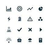 Rozwój, miękkie ikony ustawiać Zdjęcie Royalty Free