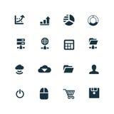 Rozwój, miękkie ikony ustawiać Obraz Royalty Free