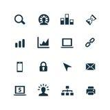 Rozwój, miękkie ikony ustawiać Zdjęcie Stock