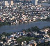Rozwój nowożytny miasto zdjęcie stock