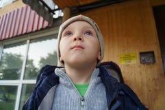 Rozważna chłopiec Obrazy Stock