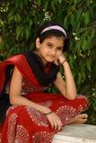 Rozważna młoda Azjatycka dziewczyna Obraz Royalty Free