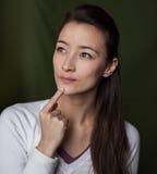 Rozważna kobieta Zdjęcia Stock