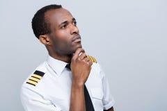 Rozważny pilot Obraz Stock