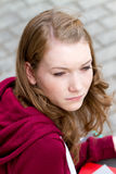 Rozważna dziewczyna Zdjęcie Royalty Free