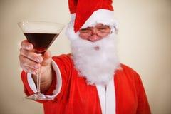 rozwesela Claus Santa Fotografia Stock