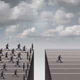 Rozwiązania przywódctwo pojęcie ilustracja wektor