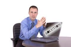rozwiązanie biznesowe obrazy stock