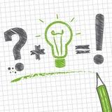 Rozwiązywanie problemów, nakreślenie Ilustracji