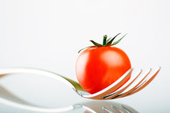 rozwidlenie czereśniowy pomidor zdjęcie royalty free