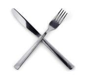 rozwidlenie nóż Zdjęcie Royalty Free