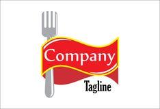Rozwidlenie restauraci logo ilustracji
