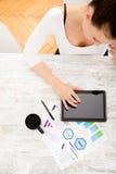 Rozwijać plan biznesowy Fotografia Stock