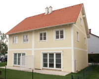 rozwoju budynki mieszkalne Zdjęcie Royalty Free
