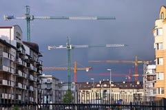 rozwoju budynki mieszkalne Obrazy Stock