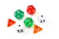 Rpg  dice Stock Images