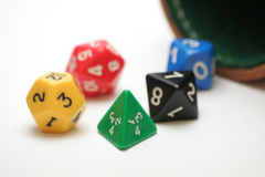 RPG Dice Stock Photos