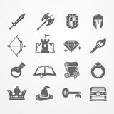 RPG PC game  icons Stock Photo