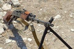 RPK Machine gun. The PK Machine gun Kalashnikov royalty free stock image