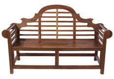 Rpyal Wooden bench Stock Photo